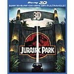 Jurassic Park (Blu-ray 3D + Blu-ray + DVD + Digital Copy + UltraViolet) $9.99 at amazon