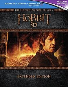 Amazon.uk: The Hobbit Trilogy - Extended Edition [Blu-ray 3D] [2015] [Region Free] for $52 shipped