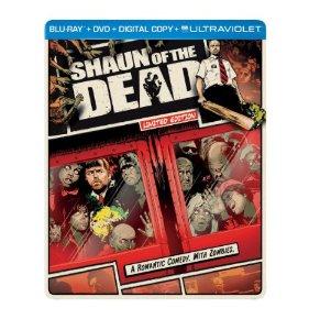Shaun of the Dead Steelbook (Blu-ray +DVD +Digital +UltraViolet) $5