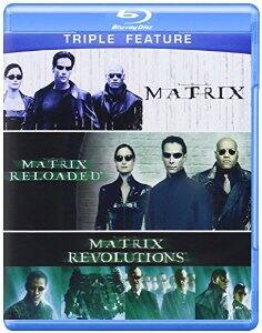 The Matrix Triple Feature (The Matrix / The Matrix Reloaded / The Matrix Revolutions) [Blu-ray] $9.96 at amazon and walmart