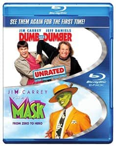 Dumb & Dumber: Unrated / The Mask (Double Feature) [Blu-ray] $6.47 FSSS or FS with prime