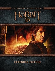 Amazon.uk: The Hobbit Trilogy - Extended Edition [Blu-ray 3D] [2015] [Region Free] for $49 shipped