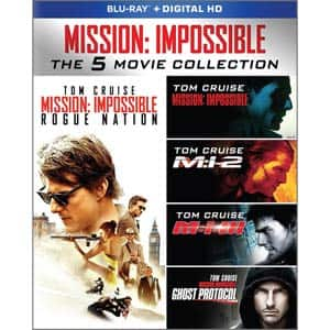Mission: Impossible - The 5 Movie Collection [Blu-ray] $22.99 free instore pickup at frys