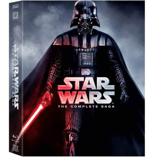 Star Wars: The Complete Saga: Episodes I-VI (Blu-ray) $60 + Free S/H