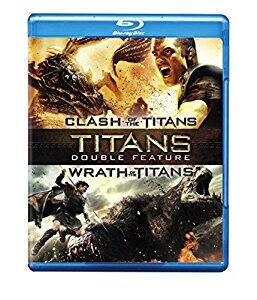 Titans Double Feature: (Clash of the Titans / Wrath of the Titans) [Blu-ray] $5 at amazon (add on item)
