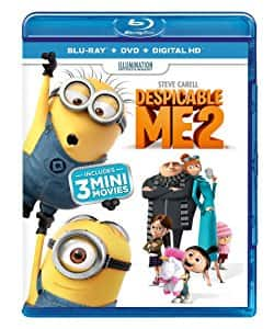 Despicable Me / Despicable Me 2 / Minions shrink-wrapped bundle [Blu-ray] $5.49 for prime members only