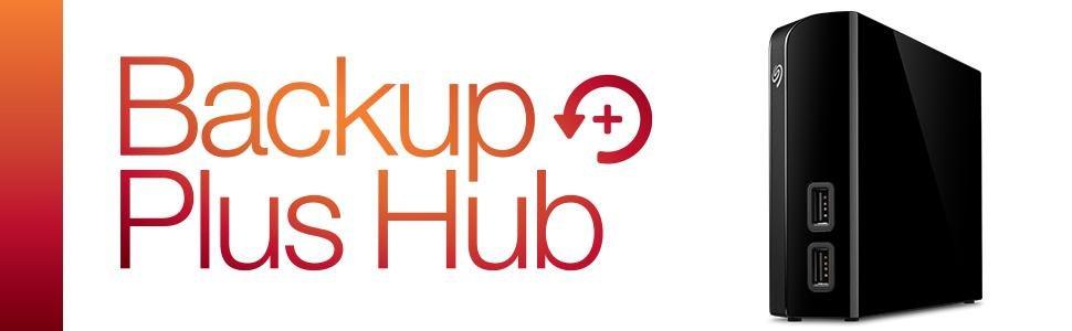 Seagate Backup Plus Hub 8TB External Desktop Hard Drive Storage (STEL8000100) $149.99 FS at amazon