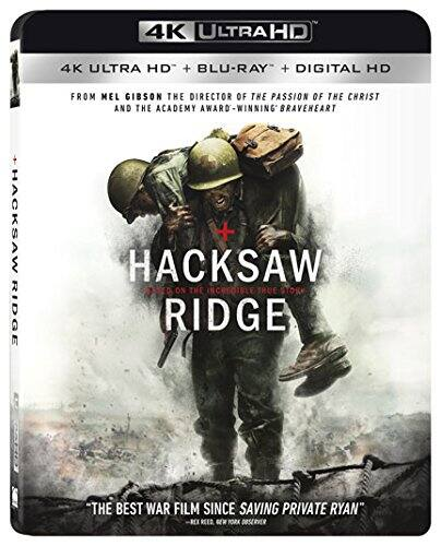 Hacksaw Ridge (4K Ultra HD + Blu-ray + Digital HD) $10 FSSS or FS with prime