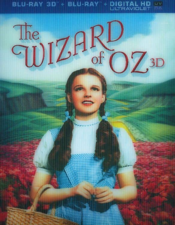 The Wizard of Oz 75th Anniversary Edition (75th Anniversary Edition / Blu-ray 3D + Blu-ray + Digital HD) $9.99 free in store pickup at bestbuy