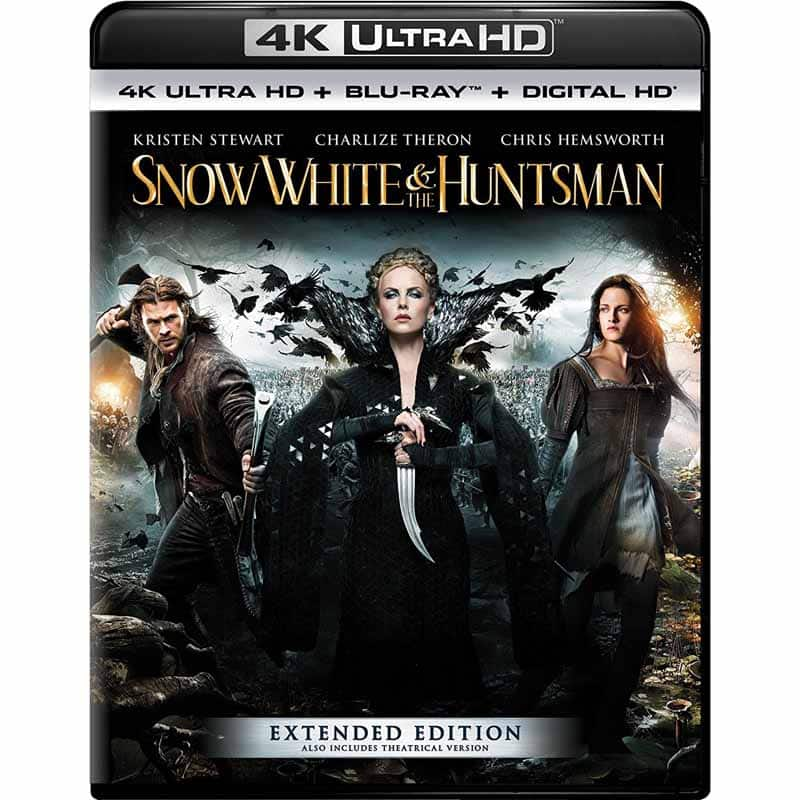 Warcraft & Snow White And The Huntsman (4K Ultra HD + Blu-ray + Digital HD) $9.99 each free in store pickup at frys