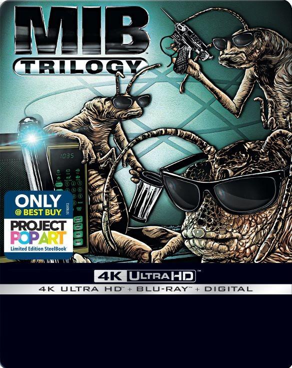Men in Black Trilogy (Best Buy Exclusive SteelBook / 4K Ultra HD + Blu-ray + Digital Copy) $33 free in store pickup at bestbuy