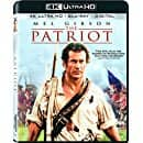 The Patriot (4K UHD + Blu-ray + Digital) $14.72 at amazon and walmart (pre-order)