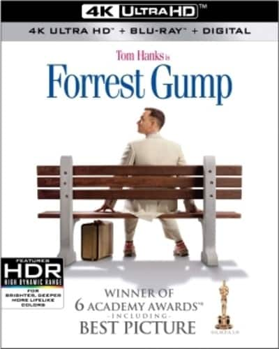 Walmart: Forrest Gump (4K Ultra HD + Blu-ray + Digital Copy) $18.09 Preorder