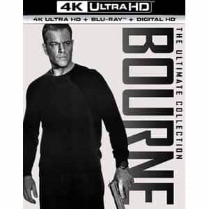 Frys: The Bourne Ultimate Collection (4K Ultra HD + Blu-ray + Digital HD) $39.99 Free shipping