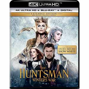 Snow White And The Huntsman / The Huntsman: Winter's War (4K Ultra HD + Blu-ray + Digital HD) $9.99 each free in store pickup at frys
