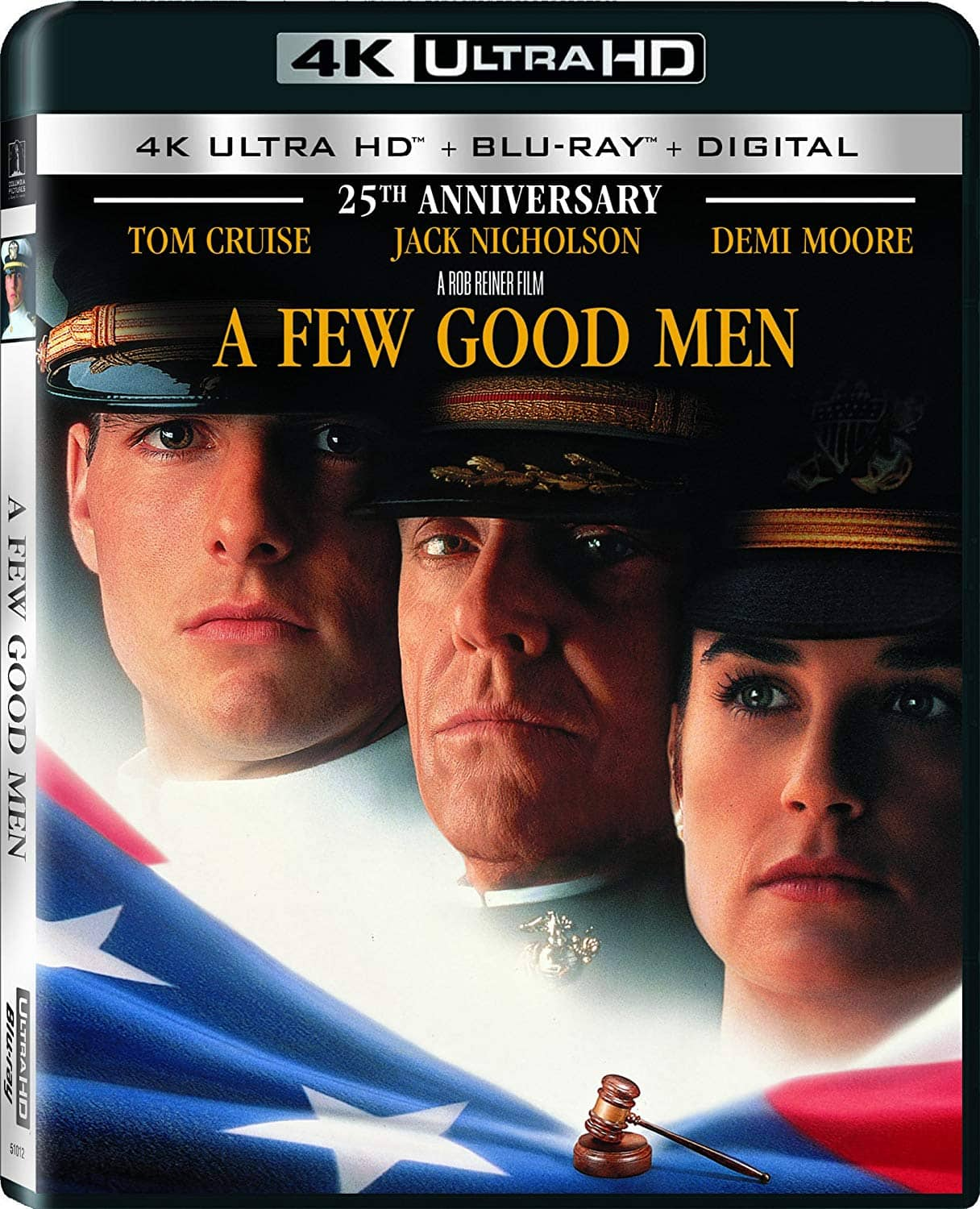 A Few Good Men (25th Anniversary Edition / 4K Ultra HD + Blu-ray + Digital HD) $11.99 at amazon (Lightning Deal)