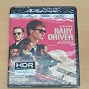 Baby Driver (4K Ultra HD + Blu-ray + UltraViolet) $9.99 FSSS or FS with prime
