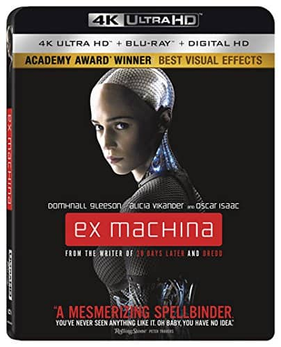 Ex Machina (4K Ultra HD + Blu-ray) + $5 gift card for $10 free in store pickup at target