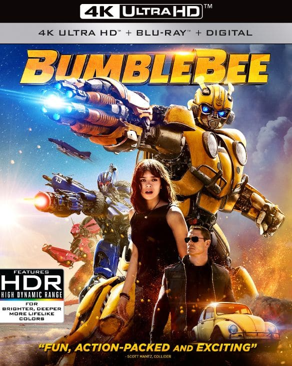 Bumblebee, Creed II, Venom (4K Ultra HD + Blu-ray + Digital HD) $13 each at bestbuy