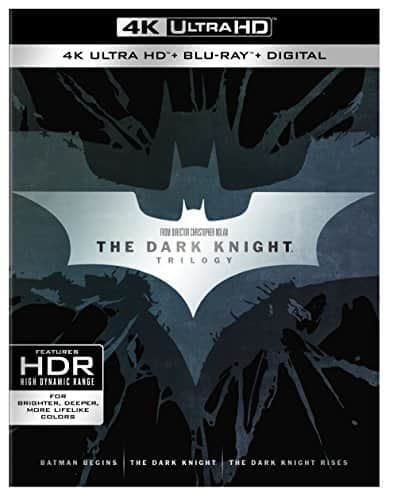 Dark Knight Trilogy (4K Ultra HD + Blu-ray + Digital Copy) $42.59 FS at amazon