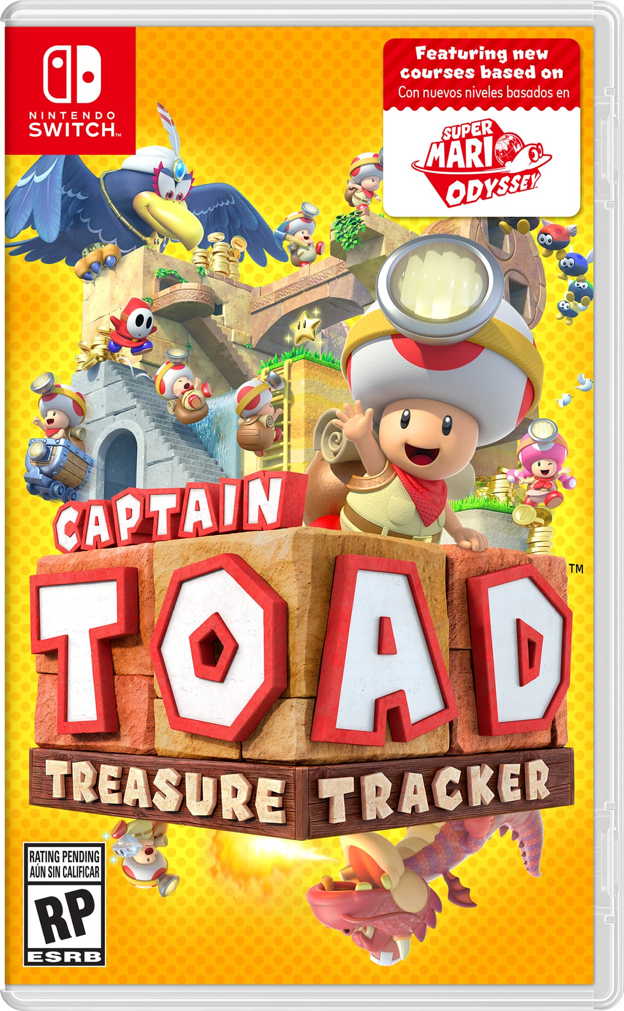 Captain Toad: Treasure Tracker - Nintendo Switch $27.50 free in store pickup at walmart