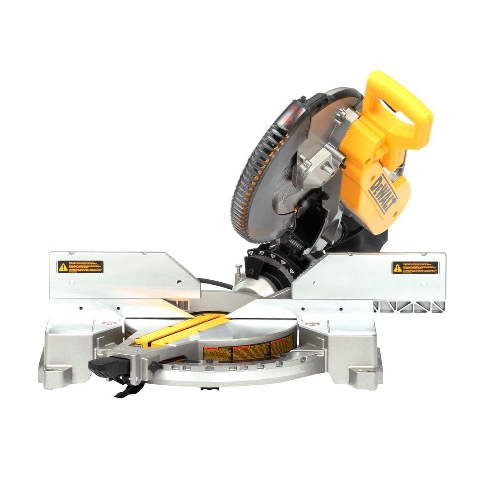 "12"" 15A  double miter saw DW716  at Home Depot $175.99"