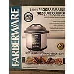 Farberware 6Qt  Programmable Pressure cooker @Walmart in-store - $59