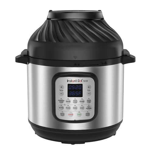 Instant Pot DUO Crisp + Air Fryer $118.99