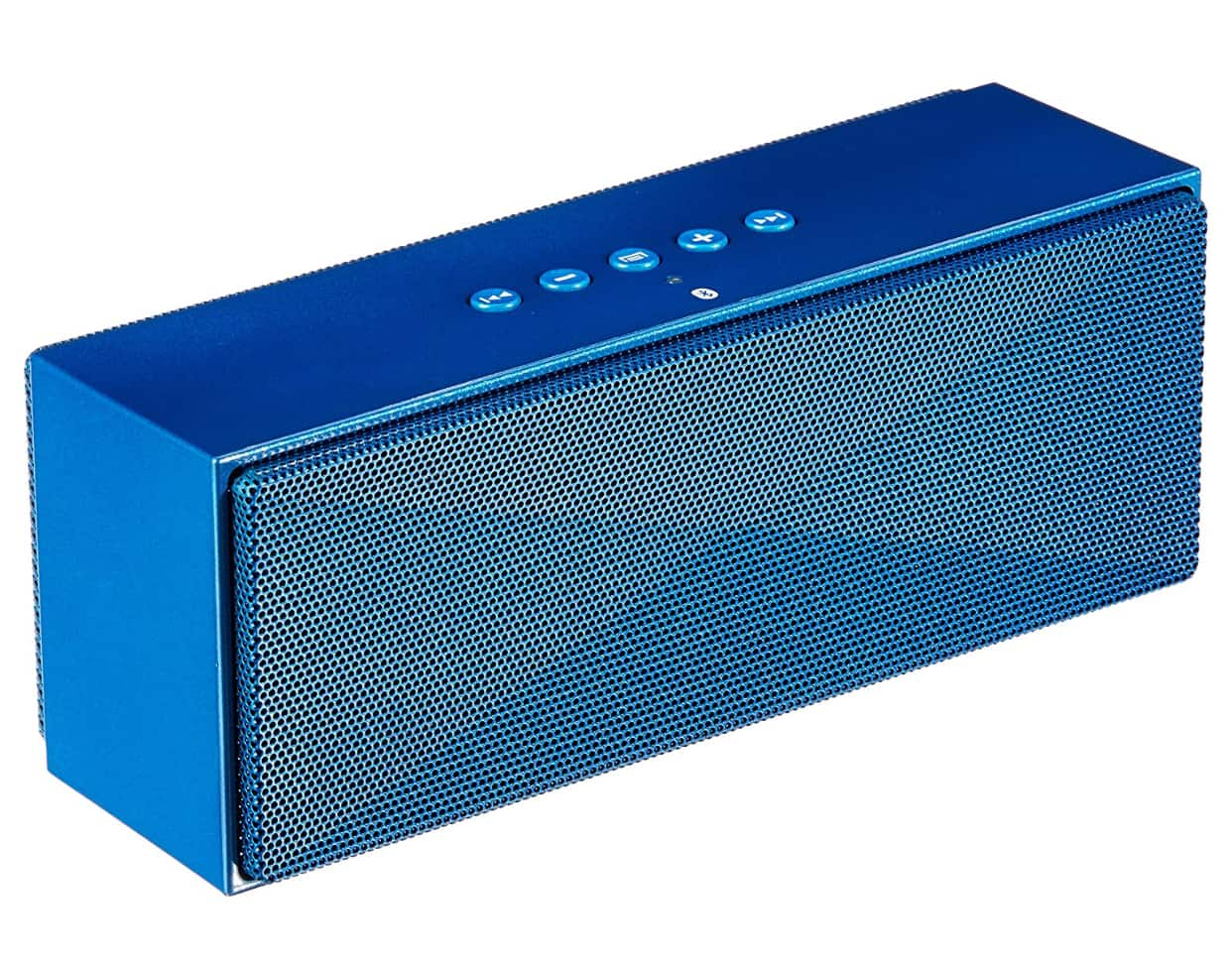AmazonBasics Wireless Bluetooth Dual 3W Speaker with Built-in Microphone - Blue ($13.99)