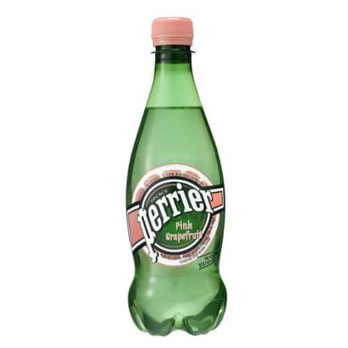 Pack of 24 PERRIER Flavored Sparkling Mineral Water, 16.9 fl oz. Plastic Bottles $13.34 After Coupon and S&S