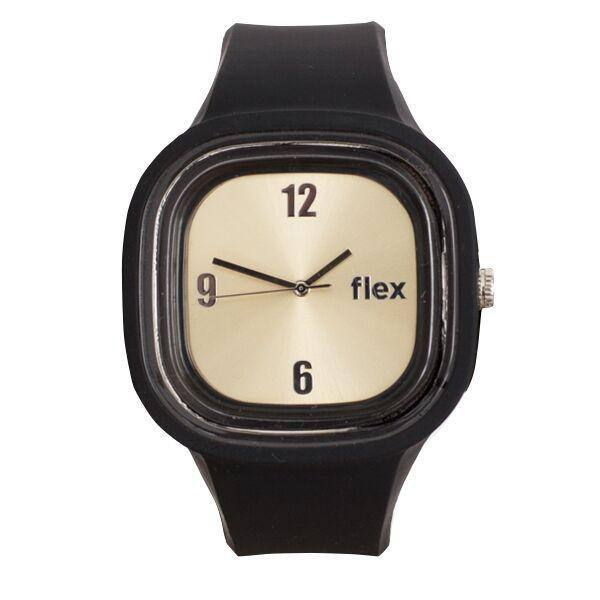Flex Watches Free Black and Gold Classic Watch with $5 Shipping