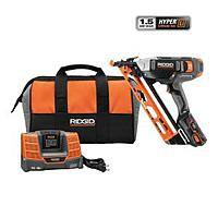 Home Depot Deal: Ridgid 18 volt Cordless Nailer In-Store $65.03 Reg. $259 Home Depot - Extreme YMMV