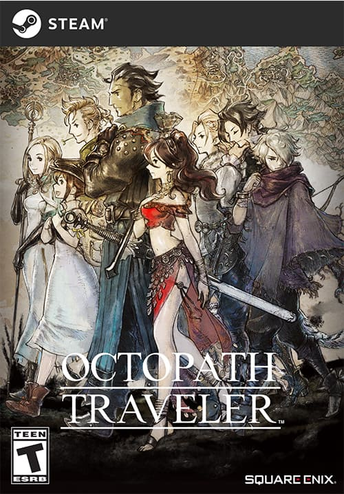 [Steam] OctoPath Traveler for $30 on HumbleBundle