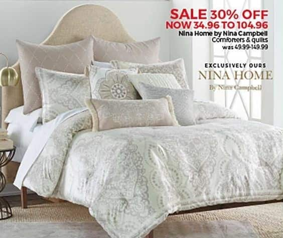 Stein Mart Black Friday Nina Home By Nina Campbell Comforters And
