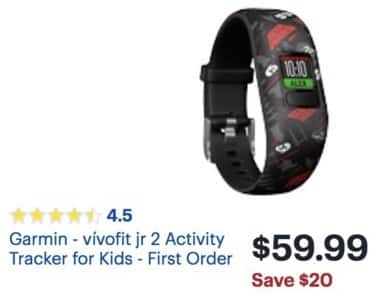 Best Buy Black Friday Garmin Viacutevofit Jr 2 Activity Tracker