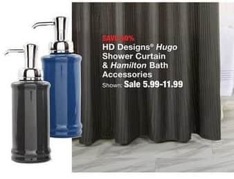 Fred Meyer Black Friday HD Designs Hugo Shower Curtain And Hamilton Bath Accessories