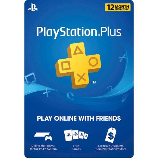 Best Buy Black Friday: Sony PS Plus: 12-Month Membership - Digital for $39.99