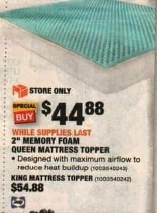 mattress topper black friday Home Depot Black Friday: Sealy 2