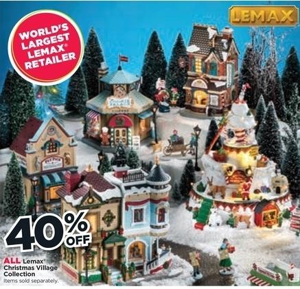 Lemax Christmas Village Michaels.Michaels Black Friday All Lemax Christmas Village