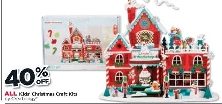 Michaels Black Friday All Christmas Kids Craft Kits By Creatology