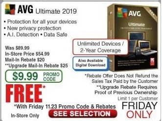 is avg ultimate free