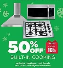 Sears Outlet Black Friday Built In Cooking Includes