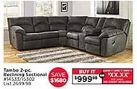 Sears Outlet Black Friday Signature Design By Ashley Tambo 2 Pc