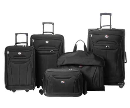 American Tourister Wakefield 5 Pc. Luggage Set AC +F/S $79.99