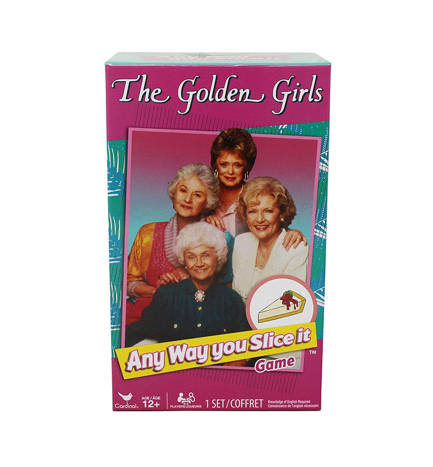 The Golden Girls Any Way You Slice It Trivia Game $4, Amazon