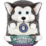 Hide Away Pets Siberian Husky Toy Animal $5.62 + Free Shipping @ Google Express