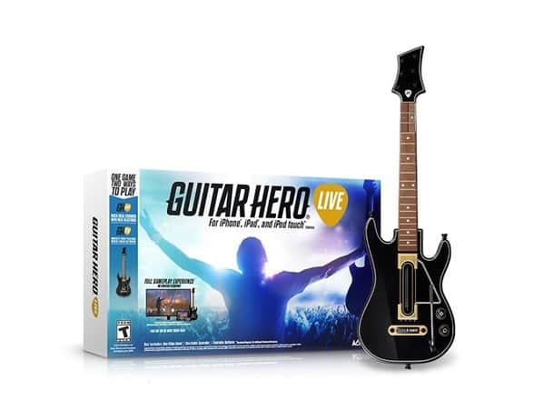 Guitar Hero Live bundle with Guitar for iOS (iPhone, iPad & Apple TV) - $12.59 & Free Shipping (Woot! App required)