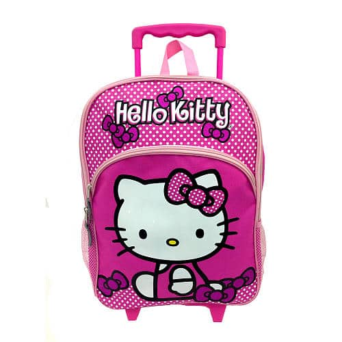 Hello Kitty Girl's Rolling Backpack - Pink $5.98 (In-store pick up or shoprunner) @Toys R Us