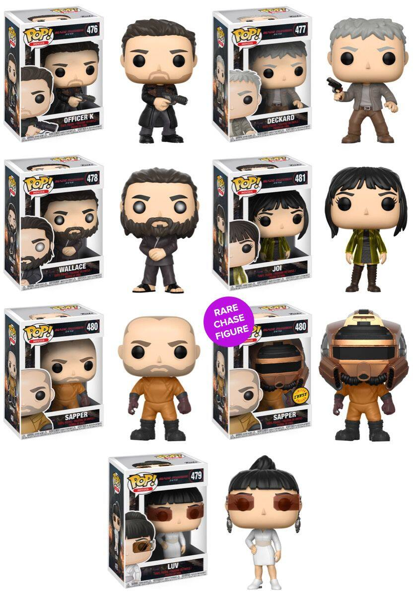 Free Funko POP! With a Blade Runner 2049 Ticket Purchase