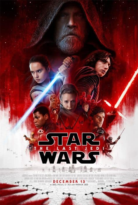 Preorder The Last Jedi Movie Tickets @ Fandango and get a Free Poster + $5.95 for shipping